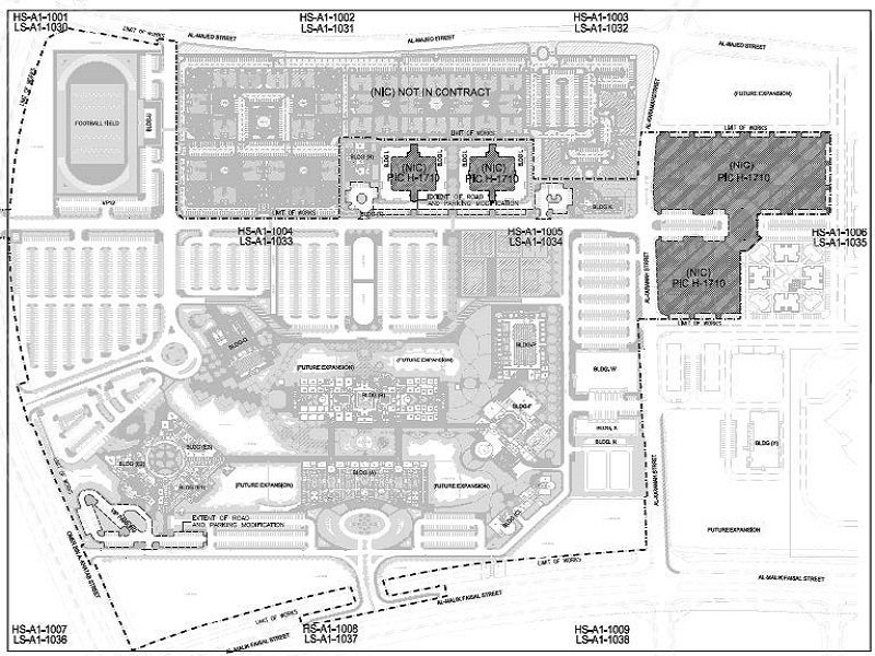 REVIEW AND REDESIGN OF LANDSCAPING FOR YANBU UNIVERSITY COLLEGE, MALE CAMPUS