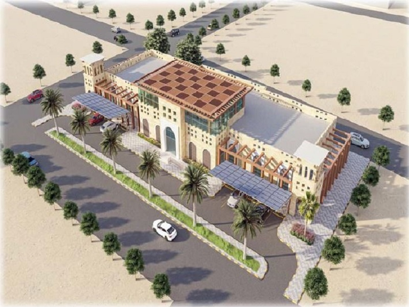 INFRASTRUCTURE, ROADS, AND GUEST HOUSE FACILITIES FOR ENTRANCES TO JAZAN INDUSTRIAL CITY
